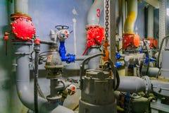 Pumpstation des Abwassers, Tel Aviv Lizenzfreie Stockfotos