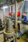 Pumpstation des Abwassers, Tel Aviv Lizenzfreie Stockbilder