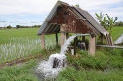 Pumpvatten Royaltyfri Bild