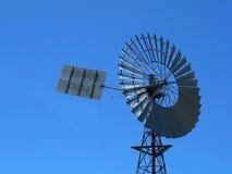 pumpvattenwindmill Royaltyfri Foto