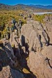 Punakaiki bascule la destination au Nouvelle-Zélande Image libre de droits