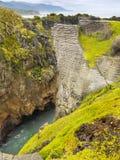 Punakaiki, costa oeste, Nova Zelândia Imagens de Stock Royalty Free
