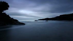 punakaiki de plage de postluminescence trueman Image stock