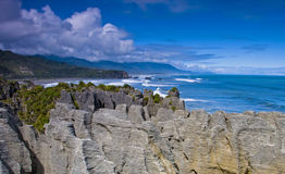 Punakaiki Pancake Rocks Royalty Free Stock Photos