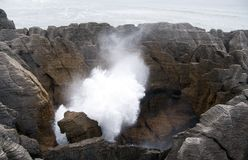 Punakaiki - Pancake Rocks Royalty Free Stock Photography
