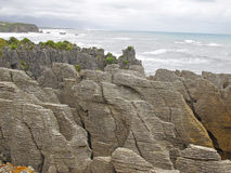 Punakaiki Pancake Rocks - New Zealand Royalty Free Stock Photos