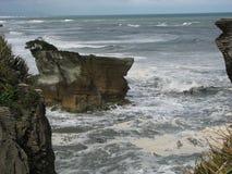 Punakaiki Rocks Stock Image