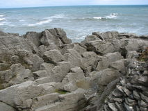Punakaiki Rocks Royalty Free Stock Image