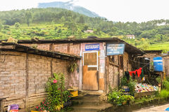 Punakha, Bhutan - September 10, 2016: Local Bhutanese restaurant in Punakha, Bhutan. Stock Photo