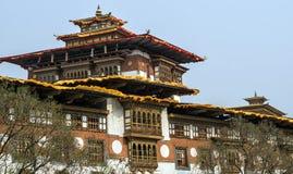 Punakha Dzong,不丹 库存照片