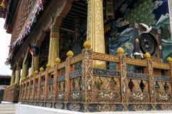 Punakha Dzong,不丹 免版税图库摄影