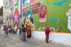Punakha Dzong, Punakha,不丹 库存图片