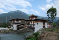 Punakha Dzong Stock Photo