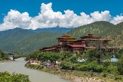 Punakha Dzong Immagine Stock