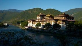 Punakha Dzong Zdjęcia Stock