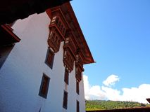 Punakha Dzong, Bhutan stockbild
