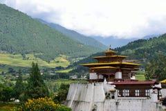 Punakha Dzong, Bhutan Photographie stock