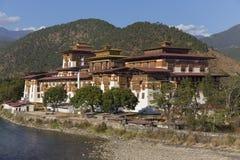Punakha Dzong, Bhutan Lizenzfreie Stockfotos