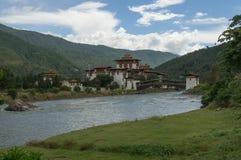Punakha Dzong Royalty Free Stock Images