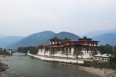 Punakha Dzong, Bhutan Zdjęcia Stock