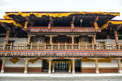 Punakha Dzong, Bhutan. Punakha Dzong or Pungthang Dewachen Phodrang (Palace of Great Happiness) in Punakha, the old capital of Bhutan Royalty Free Stock Image