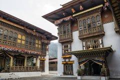 Punakha Dzong, Bhutan. Punakha Dzong or Pungthang Dewachen Phodrang (Palace of Great Happiness) in Punakha, the old capital of Bhutan Stock Images