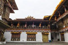 Punakha Dzong, Bhutan. Punakha Dzong or Pungthang Dewachen Phodrang (Palace of Great Happiness) in Punakha, the old capital of Bhutan Stock Image