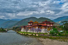 Punakha Dzong, Bhutan - Stock image Royalty Free Stock Photography