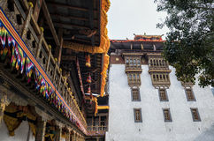 Punakha Dzong, Bhután Imágenes de archivo libres de regalías