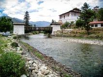 Punakha Dzong - Paro Bhutan Stock Photography