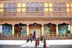 Punakha Dzong, Punakha, Bhutan zdjęcie stock