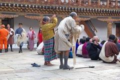 Punakha Dzong, Punakha, Butão Imagem de Stock Royalty Free