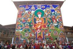 Punakha Dzong, Punakha, Butão Fotografia de Stock Royalty Free