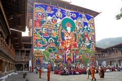 Punakha Dzong, Punakha, Butão Fotografia de Stock