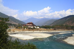The Punakha Dzong Stock Image