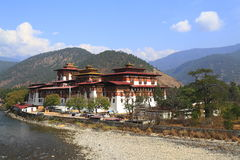 The Punakha Dzong Stock Photos