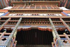 The Punakha Dzong Royalty Free Stock Photos