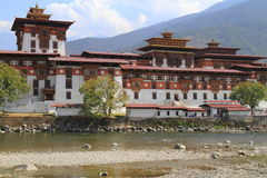 The Punakha Dzong Stock Photos