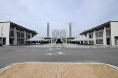 Puncak Alam Mosque at Selangor, Malaysia. SELANGOR, MALAYSIA – JANUARY 05, 2015: Puncak Alam Mosque located at Puncak Alam, Selangor, Malaysia with stock photography