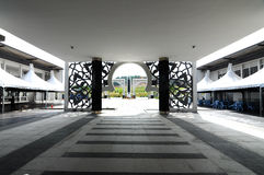 Puncak Alam Mosque at Selangor, Malaysia Royalty Free Stock Photo