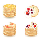 Puncake Royalty Free Stock Photography