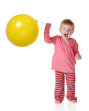 Punch Ball Delight Royalty Free Stock Photo