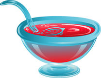 Punch bowl Royalty Free Stock Photo