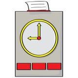 Punch clock Stock Photo
