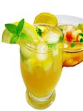 Punch cocktail drink with fruit Royalty Free Stock Photography