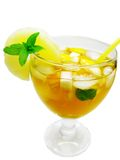 Punch cocktail drink with fruit Stock Image
