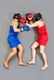 Punch in the face Stock Images