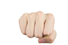Punch fist Royalty Free Stock Photography