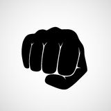 Punch fist vector Stock Photos