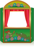 Punch And Judy Booth Royalty Free Stock Photo